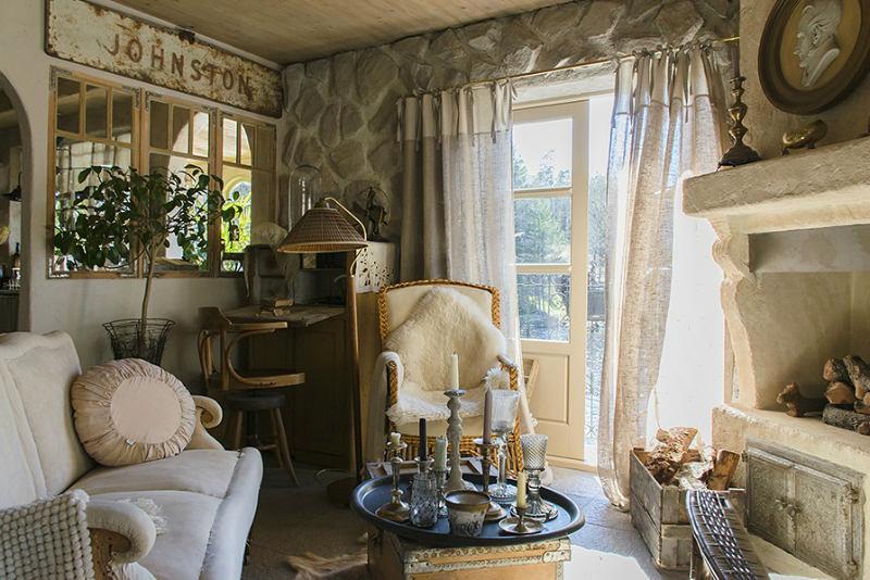 Сказочно красивый дачный домик в стиле прованс