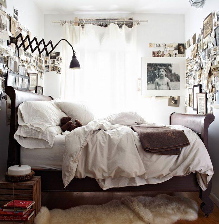 Спальня в  цветах:   Бежевый, Белый, Серый, Черный.  Спальня в  стиле:   Скандинавский.