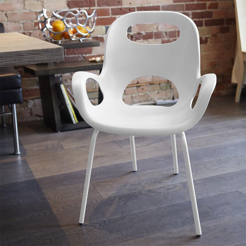 Стул дизайнерский oh chair белый от Roomble