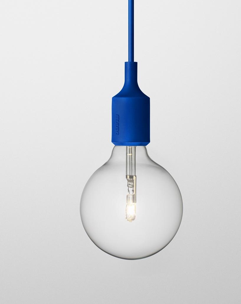 Светильник Muuto E27 blue от Roomble