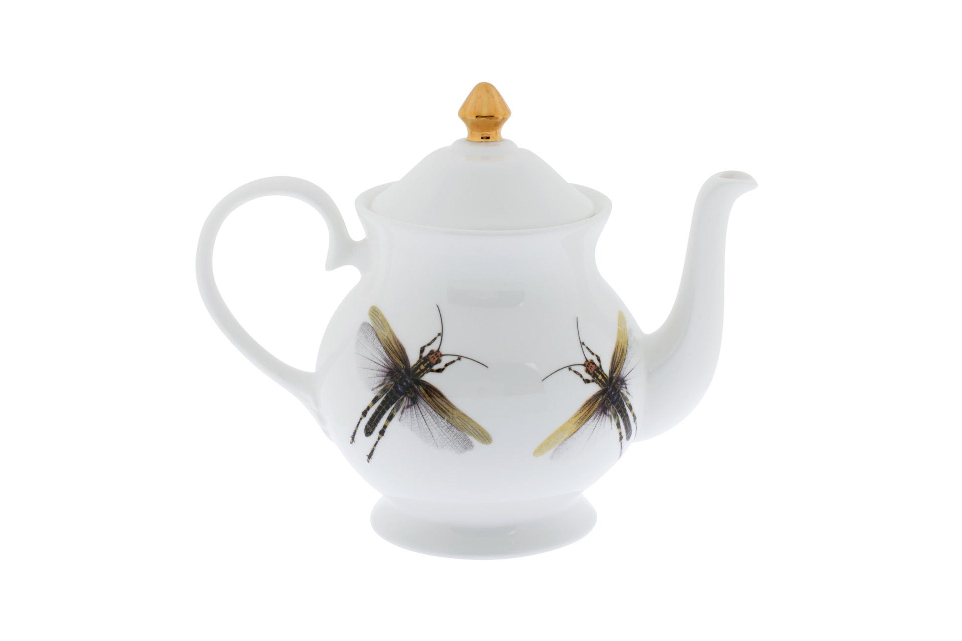 Чайник Melody Rose Dragonflies от Roomble