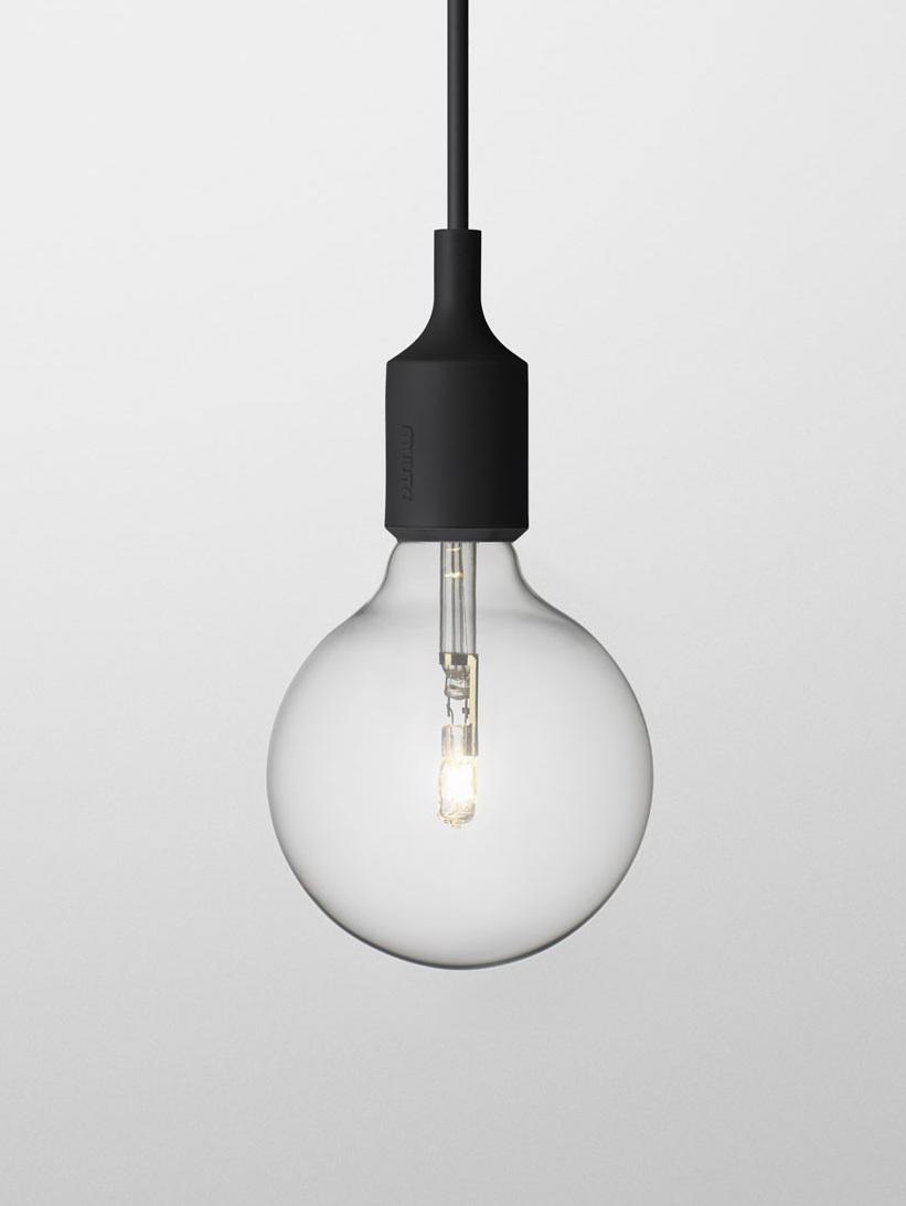 Светильник Muuto E27 black от Roomble
