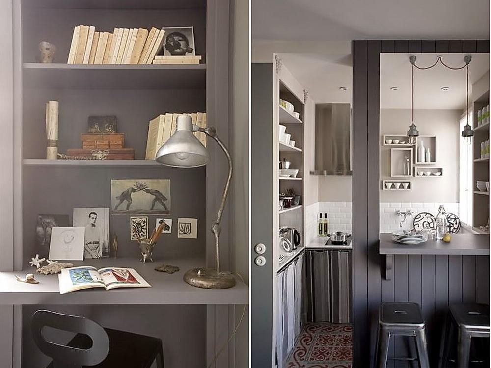 Как создать уют на 18 метрах: маленькая квартира в Париже