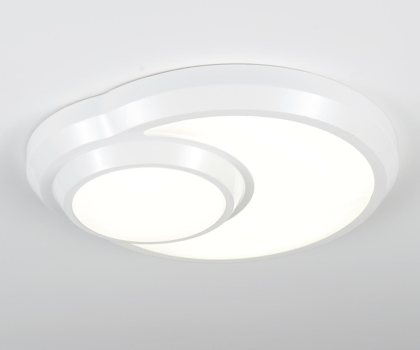 Светильник ОЗЕРО w-52*48 h 12 LED 3*6w + 1*8w белый от Roomble