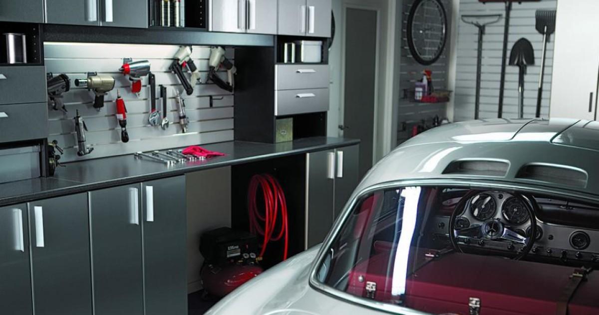 Как грамотно обустроить гараж, чтобы всё было под рукой: 30 примеров