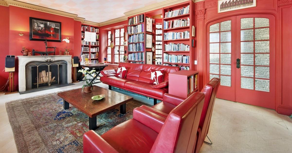 Всё красное: тонкости использования цвета в интерьере