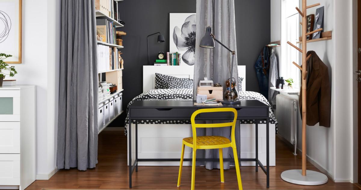 Спальня в крошечной квартире: 7 крутых идей