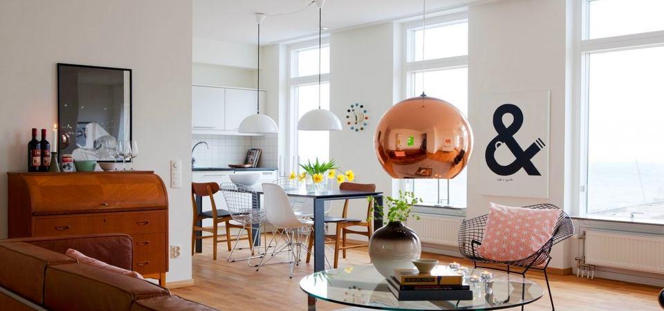 Как сделать квартиру больше: светлый интерьер из Швеции