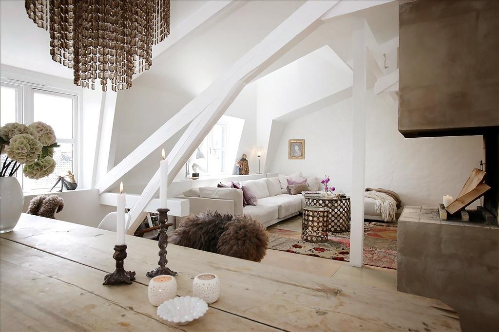 Гостиная, холл в цветах: серый, белый, коричневый, бежевый. Гостиная, холл в стиле скандинавский стиль.
