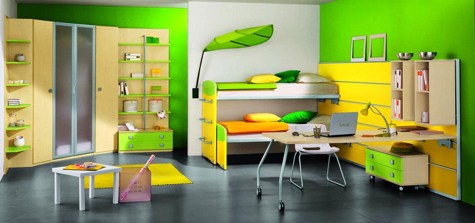 Нет места в детской: подборка самой вместительной трансформируемой мебели