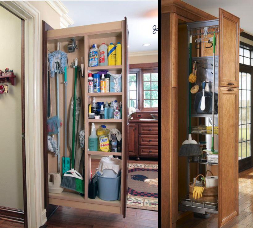 Подсобное помещение в цветах: серый, светло-серый, коричневый, бежевый. Подсобное помещение в .