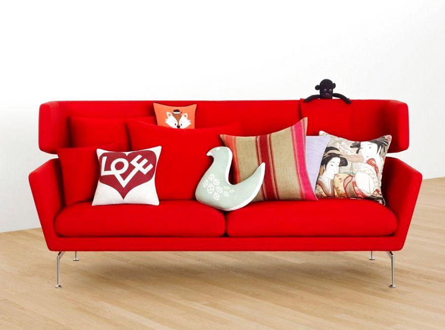 Мебель и предметы интерьера в цветах: красный, желтый, бордовый, бежевый. Мебель и предметы интерьера в стилях: скандинавский стиль.