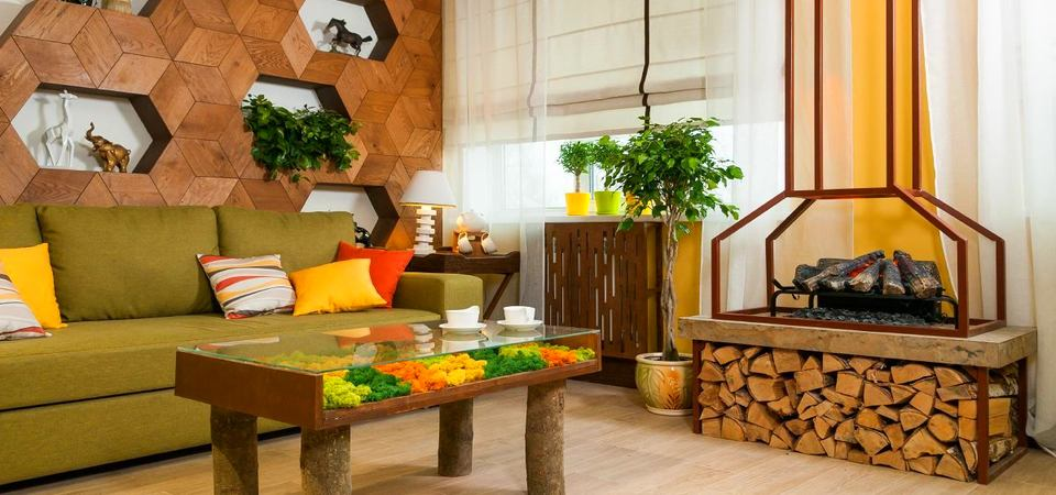 По программе Фазенда: гостиная с летним настроением для семьи Пантелеевых