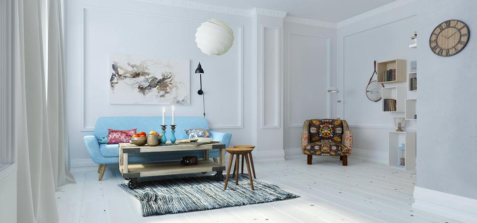 Как добавить скандинавскому стилю уюта: проект квартиры в Москве