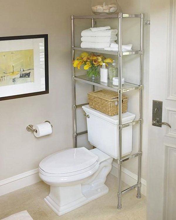 Туалет в цветах: серый, светло-серый, белый, бежевый. Туалет в стиле эклектика.