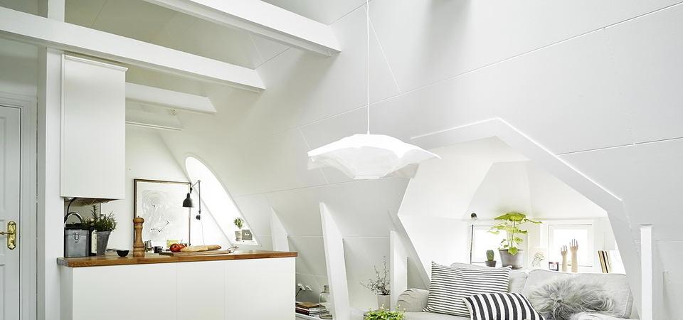 Как оформить квартиру на чердаке: реальный пример из Швеции