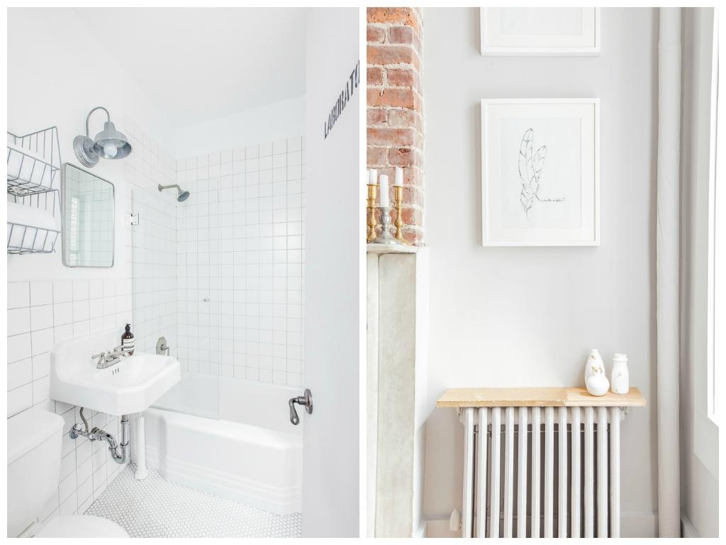 Туалет в цветах: желтый, серый, светло-серый, белый, бежевый. Туалет в стилях: лофт, эклектика.
