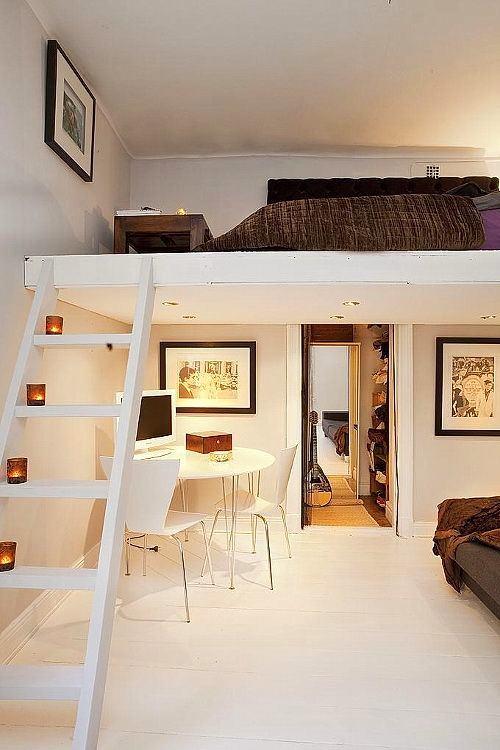 Мебель и предметы интерьера в цветах: желтый, серый, светло-серый, коричневый, бежевый. Мебель и предметы интерьера в стиле минимализм.
