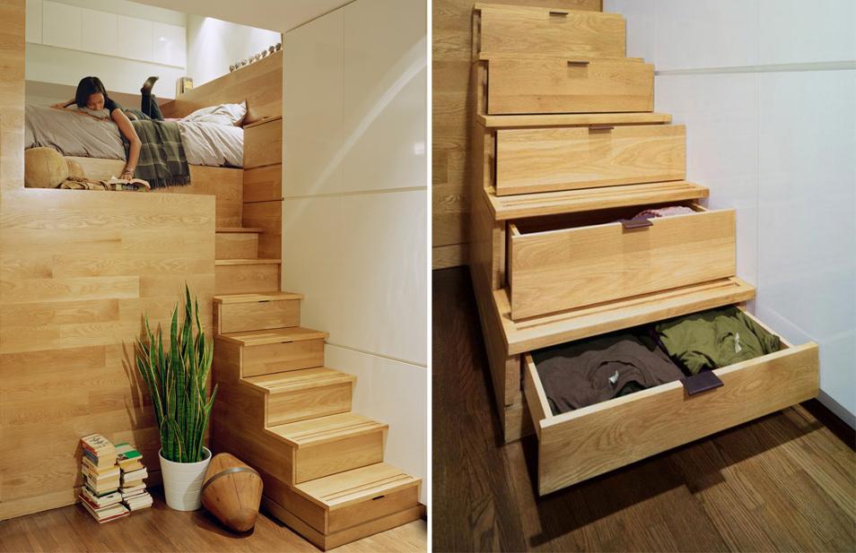 Лестница в цветах: серый, светло-серый, коричневый, бежевый. Лестница в стиле экологический стиль.