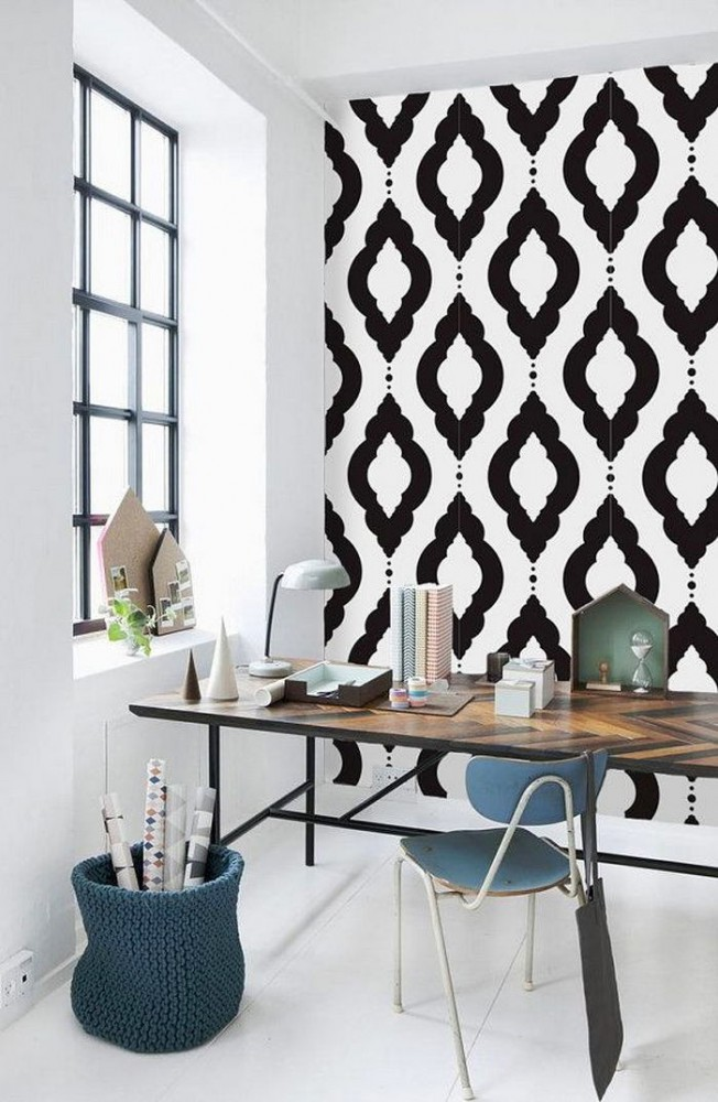 Офис в цветах: бирюзовый, черный, серый, белый, бежевый. Офис в .