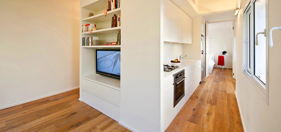 Как спланировать 40-метровую квартиру, чтобы ещё место осталось