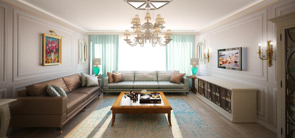 Яркий пример современной классики: трёхкомнатая квартира в Москве