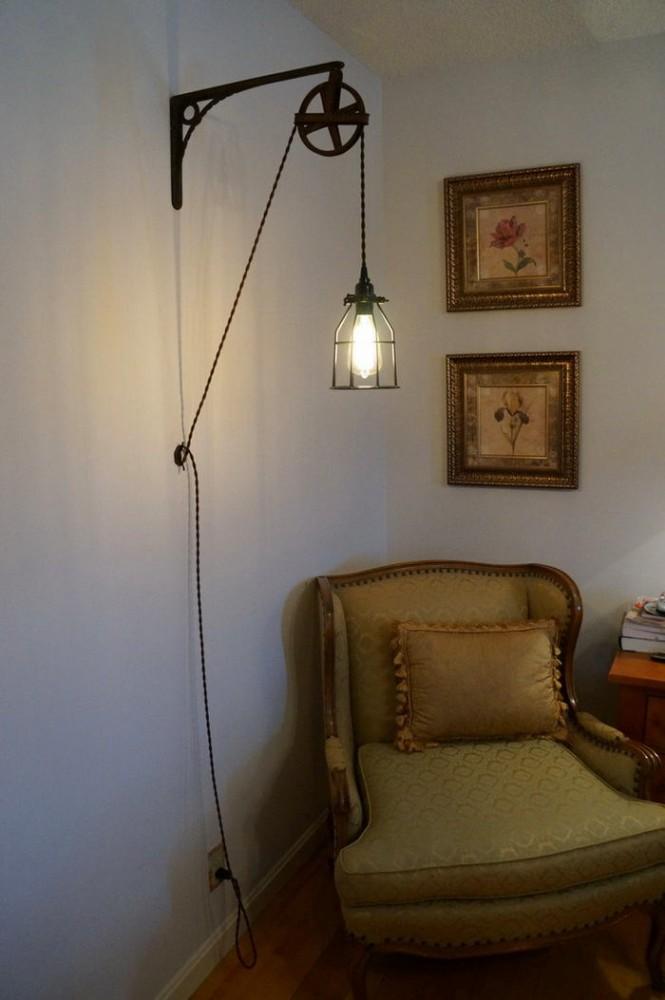 Спальня в цветах: светло-серый, белый, коричневый. Спальня в .