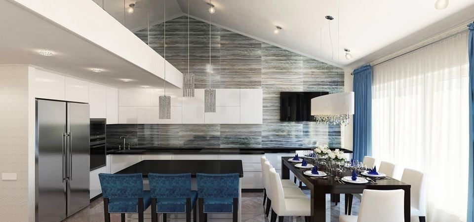 Мансардный этаж: как создать эффект загородного дома в квартире