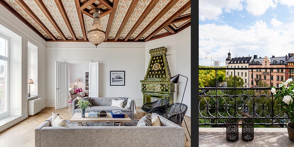 Балкон, веранда, патио в цветах: серый, светло-серый, белый, бежевый. Балкон, веранда, патио в стиле скандинавский стиль.