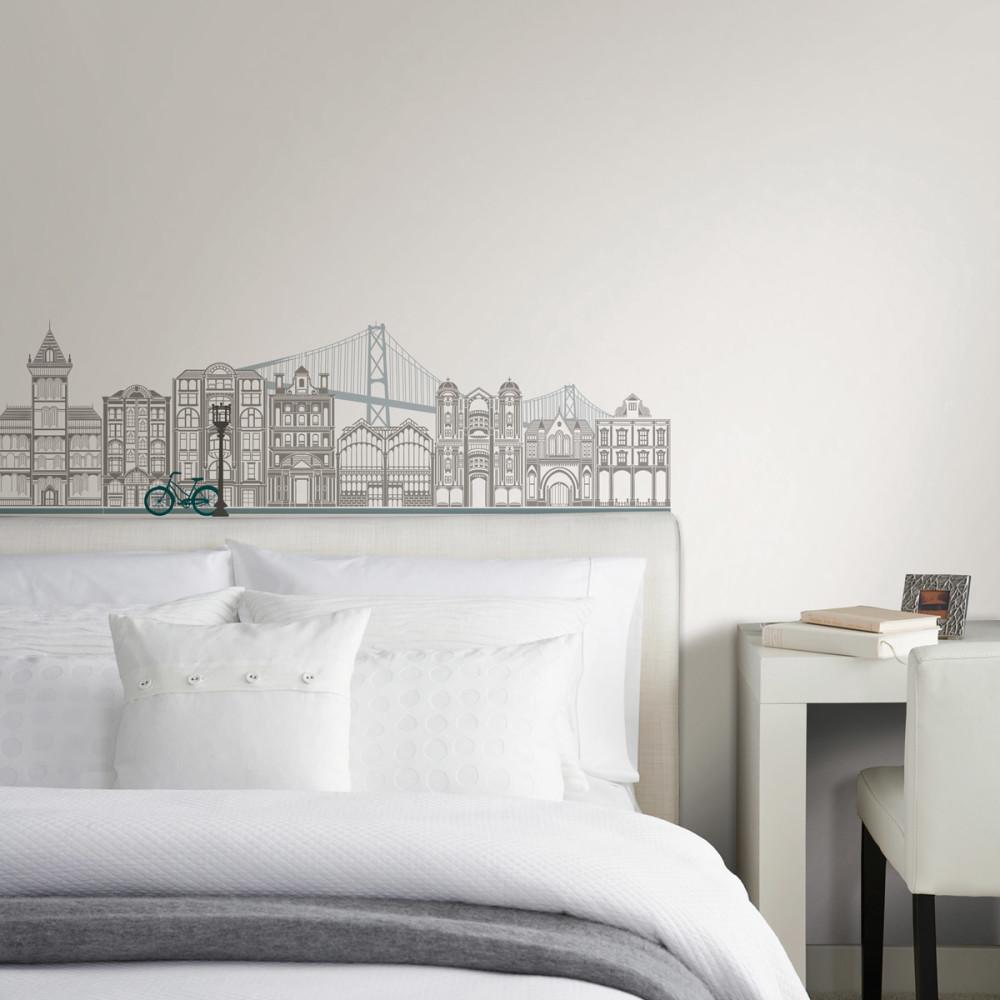 Мебель и предметы интерьера в цветах: серый, светло-серый, белый. Мебель и предметы интерьера в стиле минимализм.