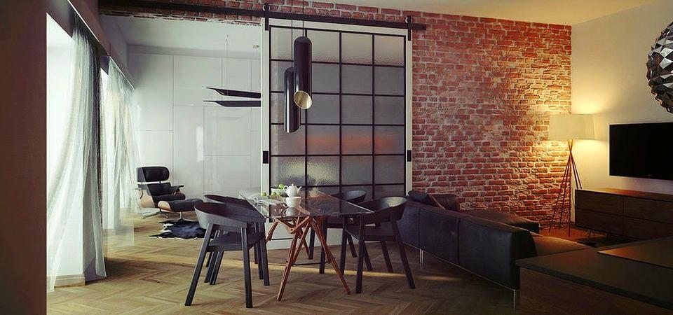 Как правильно зонировать маленькую квартиру: пример из Польши