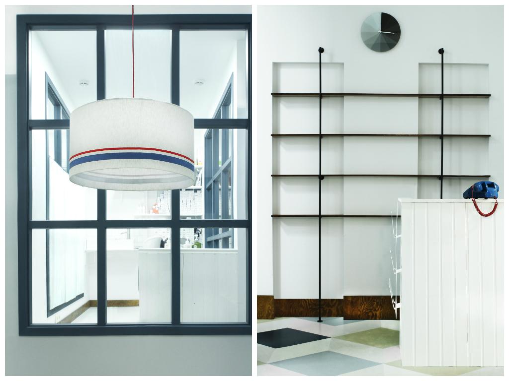 Декор в цветах: черный, белый, темно-коричневый. Декор в стиле минимализм.