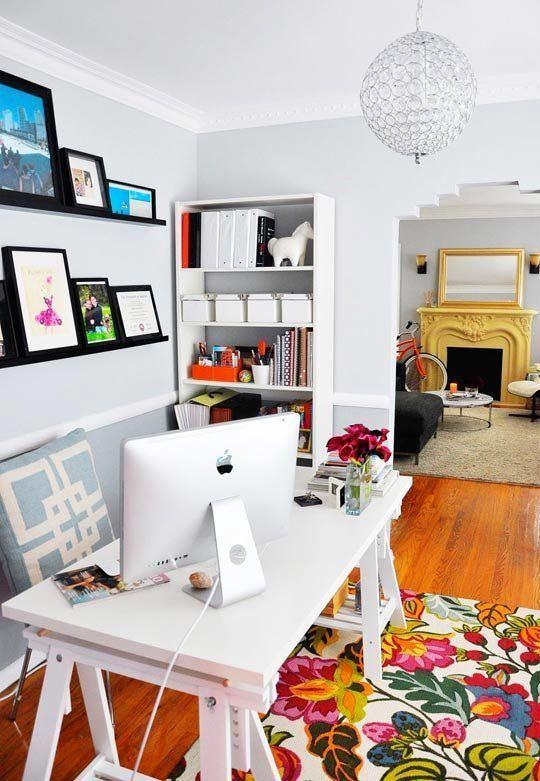 Офис в цветах: черный, серый, светло-серый. Офис в стиле скандинавский стиль.