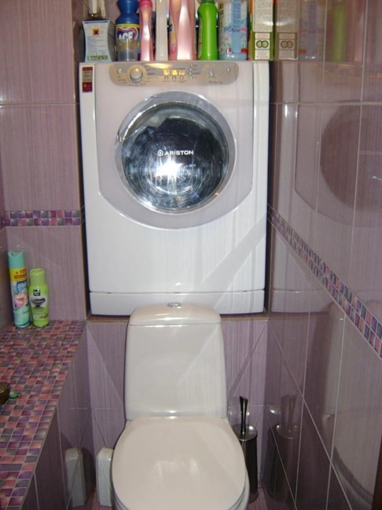 Туалет в цветах: черный, серый, светло-серый, белый, розовый. Туалет в .