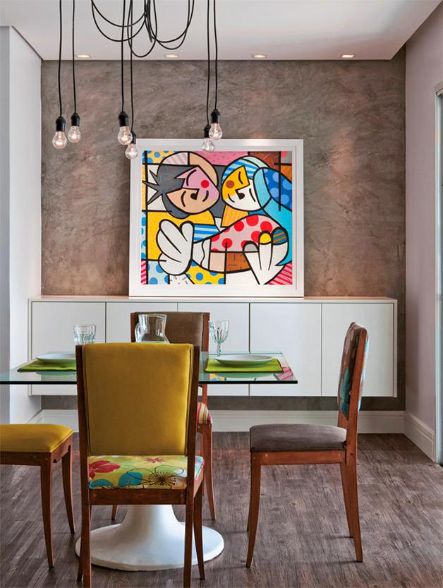 Мебель и предметы интерьера в цветах: серый, коричневый, бежевый. Мебель и предметы интерьера в стиле эклектика.