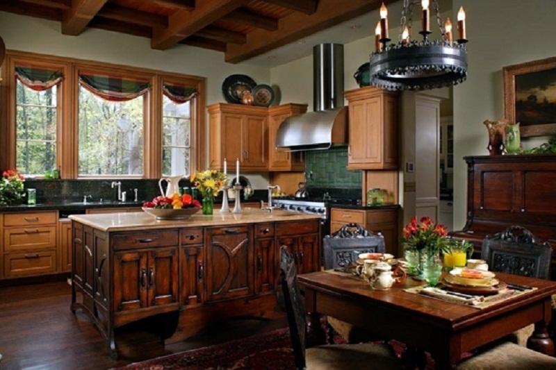 Архитектура в цветах: серый, темно-коричневый, коричневый, бежевый. Архитектура в стиле английские стили.