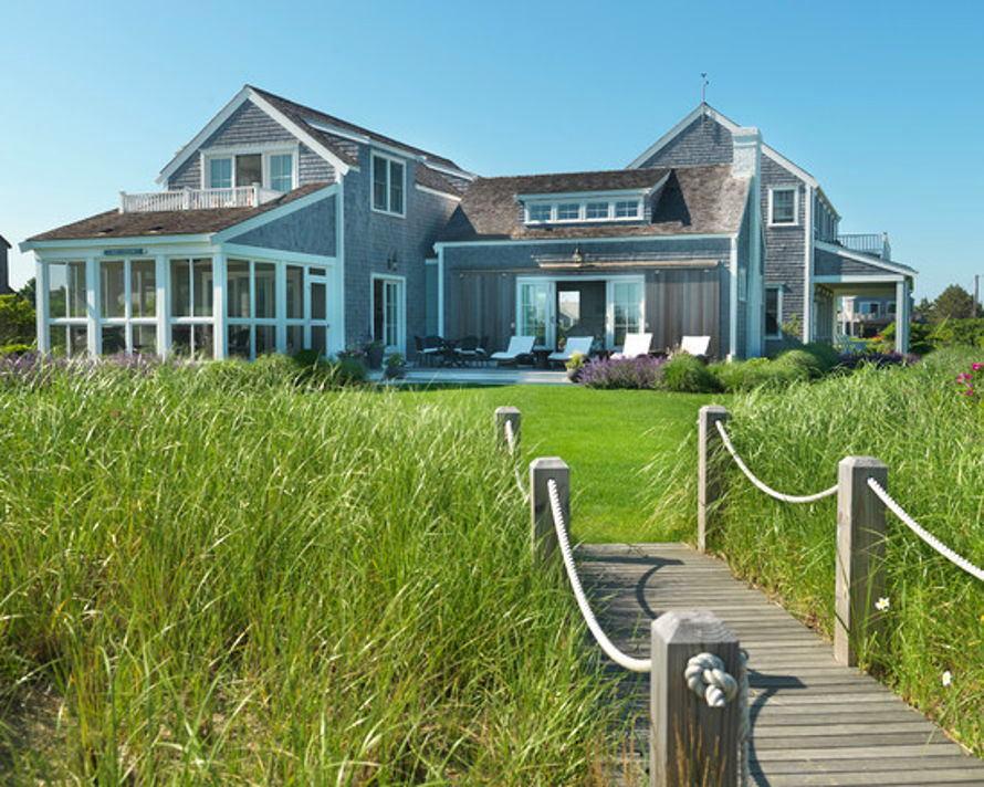 Архитектура в цветах: бирюзовый, серый, темно-зеленый, салатовый, бежевый. Архитектура в стилях: американский стиль, экологический стиль.