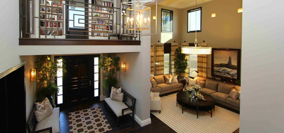 10 способов с лёгкостью совместить прихожую с гостиной