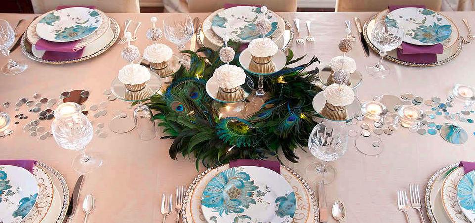 Самые красивые новогодние столы: 35 эффектных фото