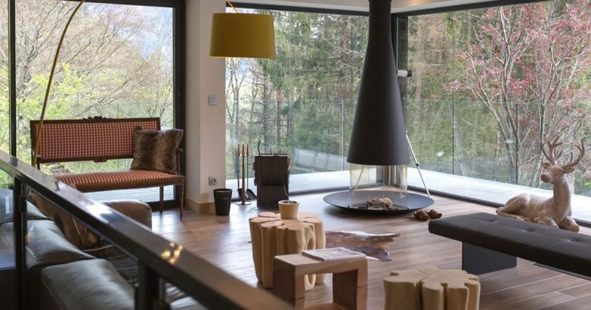 Дом в стиле минималистичного шале
