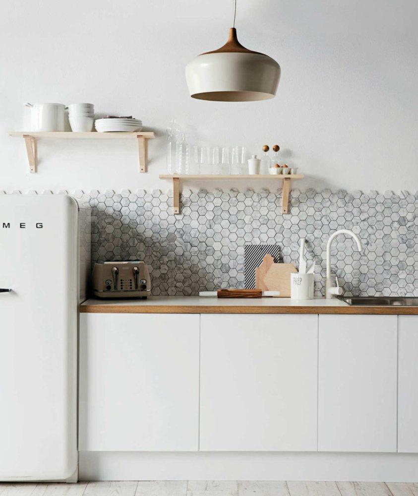Кухонный фартук: 29 необычных и красивых примеров