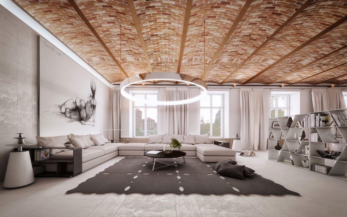 20 отличных идей для сумасшедших потолков