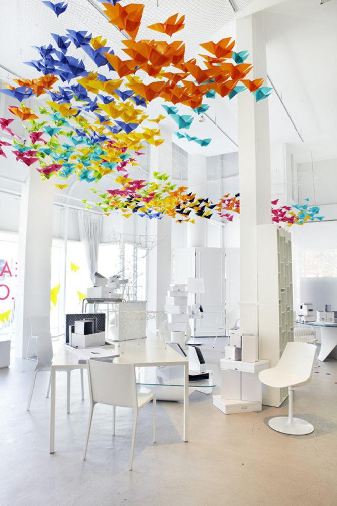 Офис в  цветах:   Бежевый, Белый, Светло-серый.  Офис в  стиле:   Минимализм.