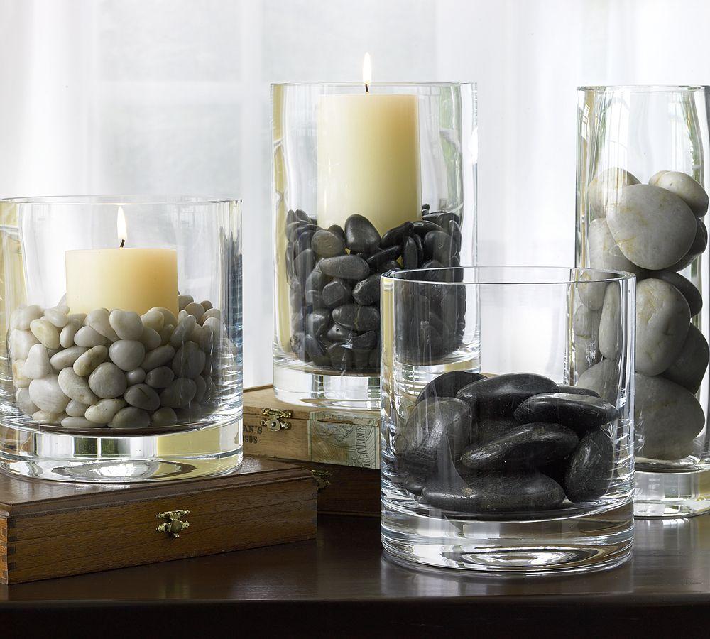 Галька как материал для декора дома: 19 идей