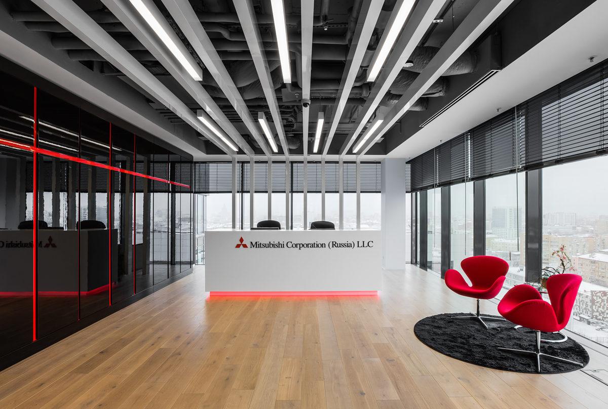 Офис компании Mitsubishi — для инноваторов, следующих традициям