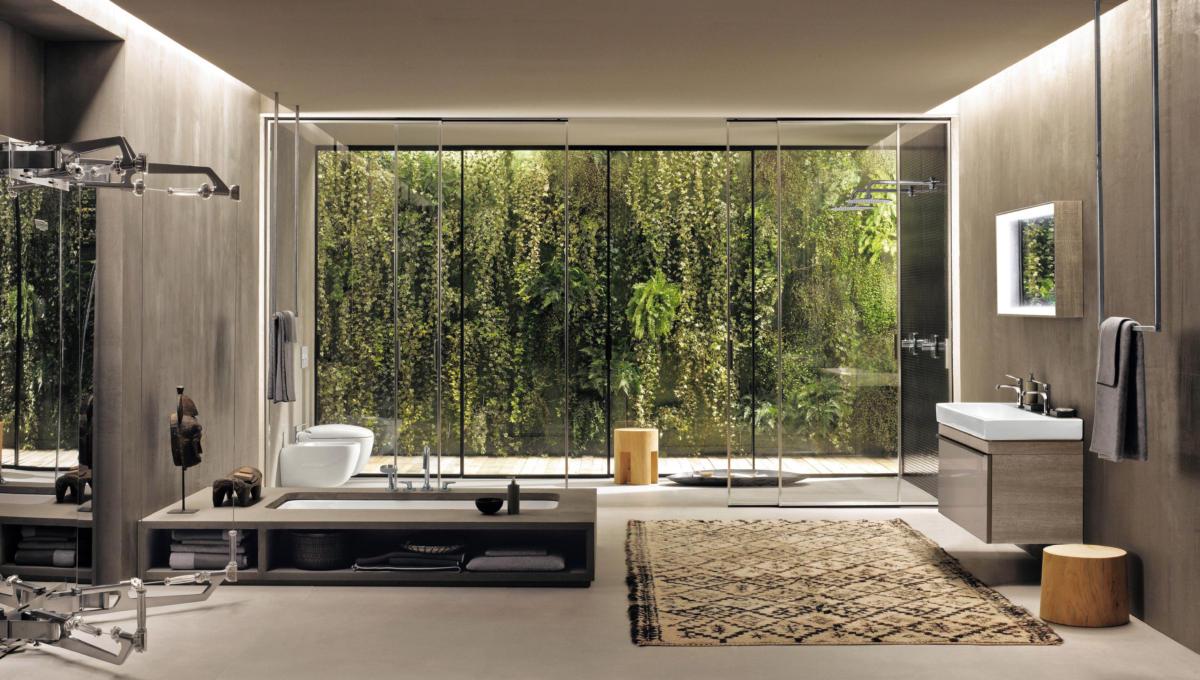 Главные тренды в дизайне ванных комнат. Прямиком из Европы