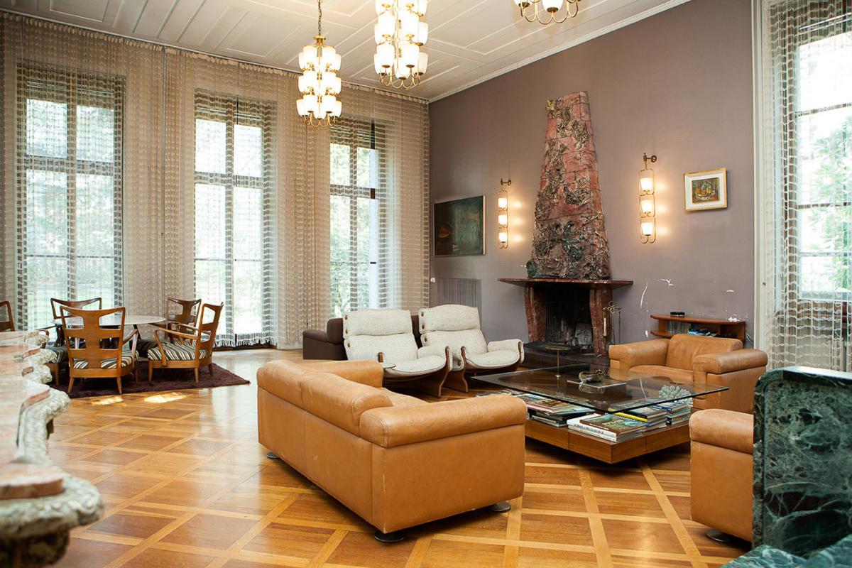 Стиль ар-деко в интерьерах виллы архитектора Освальдо Борсани: архитектурные экскурсии roomble.com