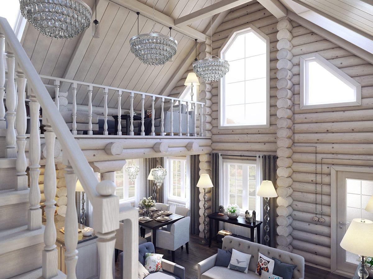 Переделка типового деревянного дома: пример из Никулино