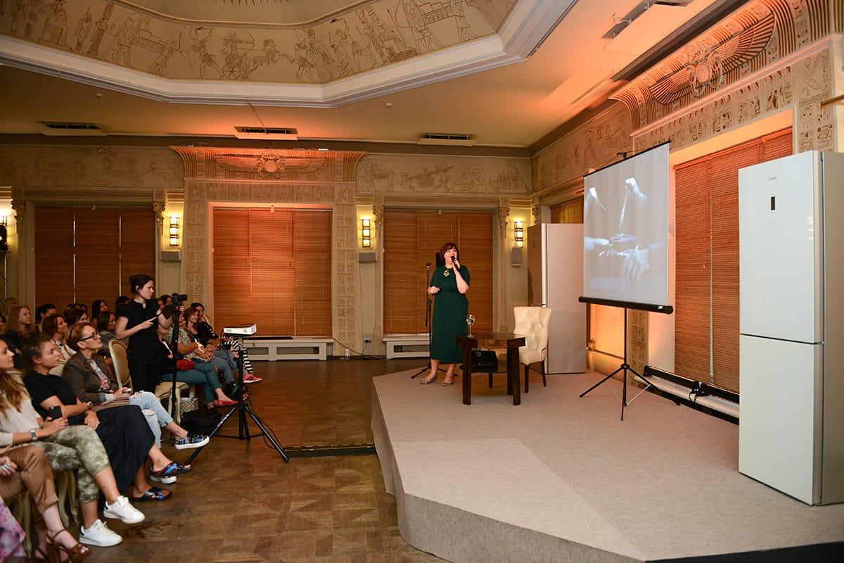 О дизайне и еде шёл разговор на лекции Ольги Косыревой