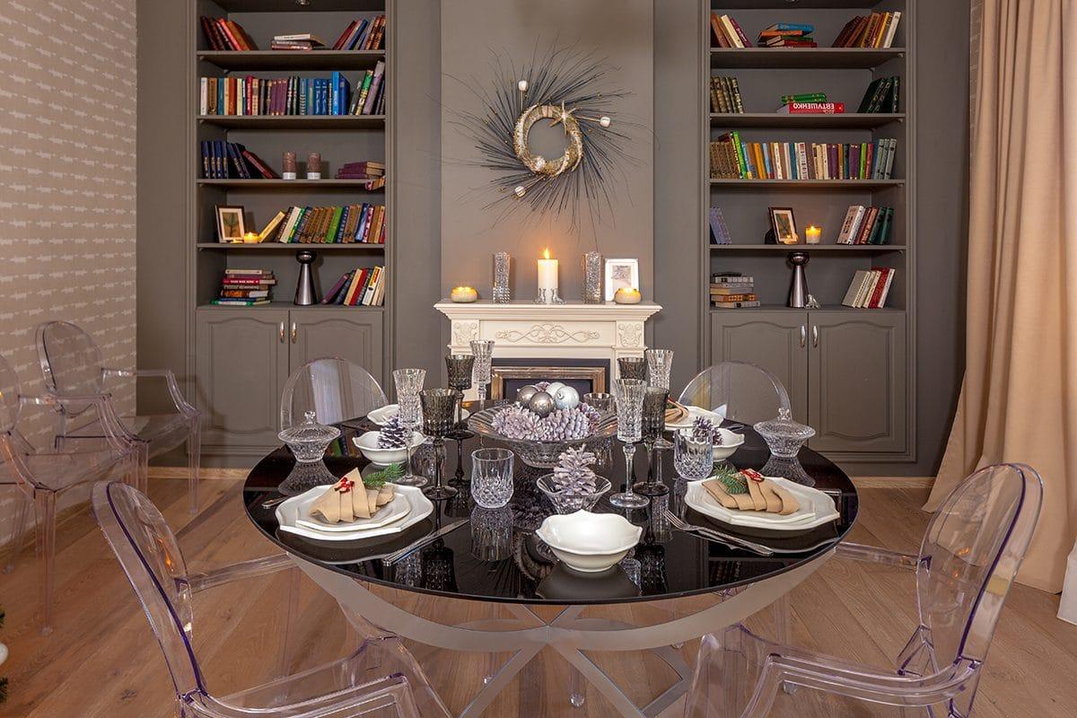 Идеальный дизайн гостиной для празднования старого Нового года